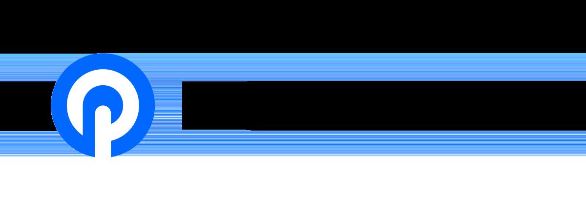 Podhero logo with black text